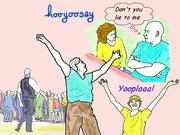 """hooyoosay """"Don't you lie to me"""" & """"Yooplaaa!"""""""