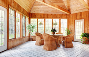 Sun Room with South-Facing Walls