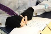 老師上課教學示範-英文花體字