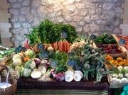 Vence South of France - lovely vegetables
