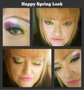 Spring Look brights/mardi gras colors