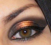 Glowing Black and Orange eyes
