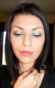 Blue Shimmer Glowing Eyes
