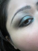 emerald makeup look