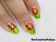 Welcome Spring Nail Art