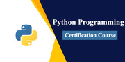 Python Programming Certification Course (40%OFF)