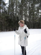 X -country skiing