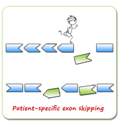 Patient Specific Exon Skipping -NOW!