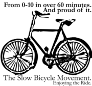 Slow Bicycle Movement - Sydney