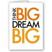 Your biggest dreams - sending positiv thoughts to each other to help reach our dreams :)