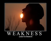 My Weakness Is My Strength