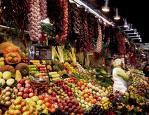 Mercado de productos agrícolas