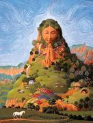 Saúde e bem estar espiritual - Uma das pétalas da flor da permacultura