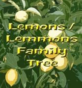Lemons / Lemmons Family Tree
