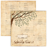 Genealogy Scrapbook & Family History Albums