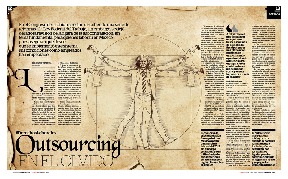 Outsourcing, en el olvido
