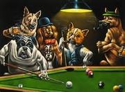 Pool players.