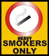Smokers only