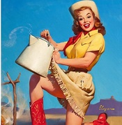Pinups of the Western USA