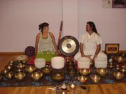 Vibración del sonido...  Cuencos, voz, gons e instrumentos ancestrales...