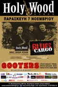 Blues Cargo + Gooters Live at Holy Wood Stage
