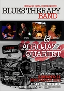 BLUES THERAPY..ACROJAZZ QUARTET..LIVE AT CHILLOUT..