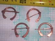 Copper Sm Pan Pins
