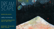 "Blackbird Attic presents ""Dream Scape"", art by Cathy McMurray"