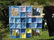 kitty rag quilt