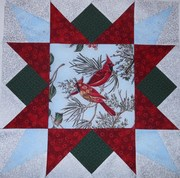 March 2013 - Quilting Canadians BOM - Memory Star