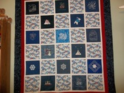 Here are a few snaps of my  Winter Block Swap for 2013