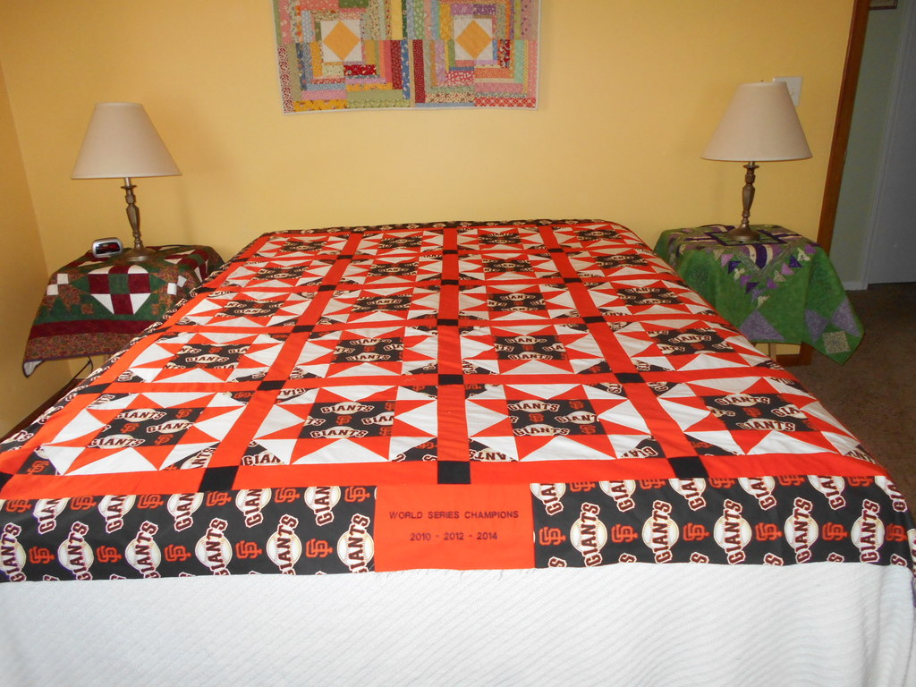 SF Giants Quilt