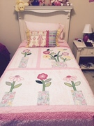 Applique quilt for Kaitlyn