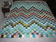 Quilt that I won at Guild meeting.
