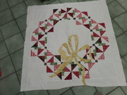 A Quilter's Wreath