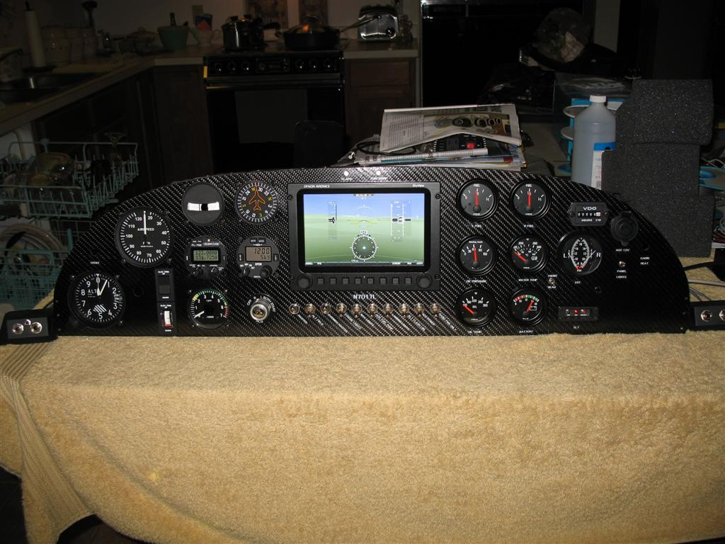Instrument panel paint or treatment - Zenith Aircraft Builders and