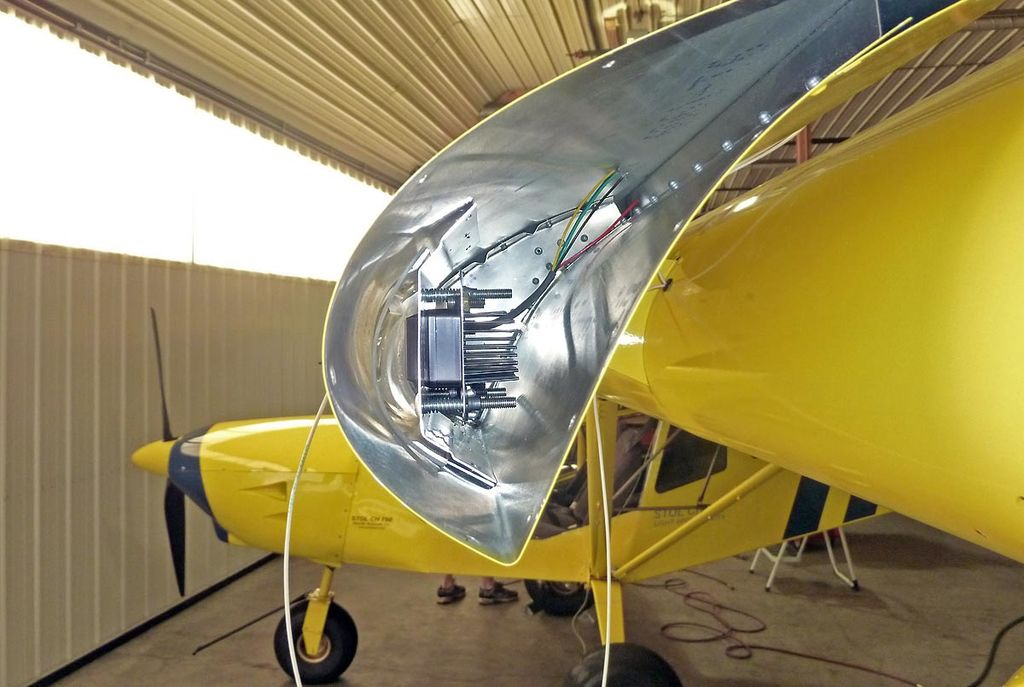 Landing Lights on a Zenith STOL - Zenith Aircraft Builders and Flyers