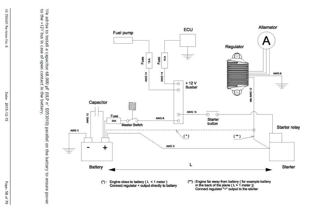 basic electrical diagram zenith aircraft builders and flyers Input Output Wiring Diagram