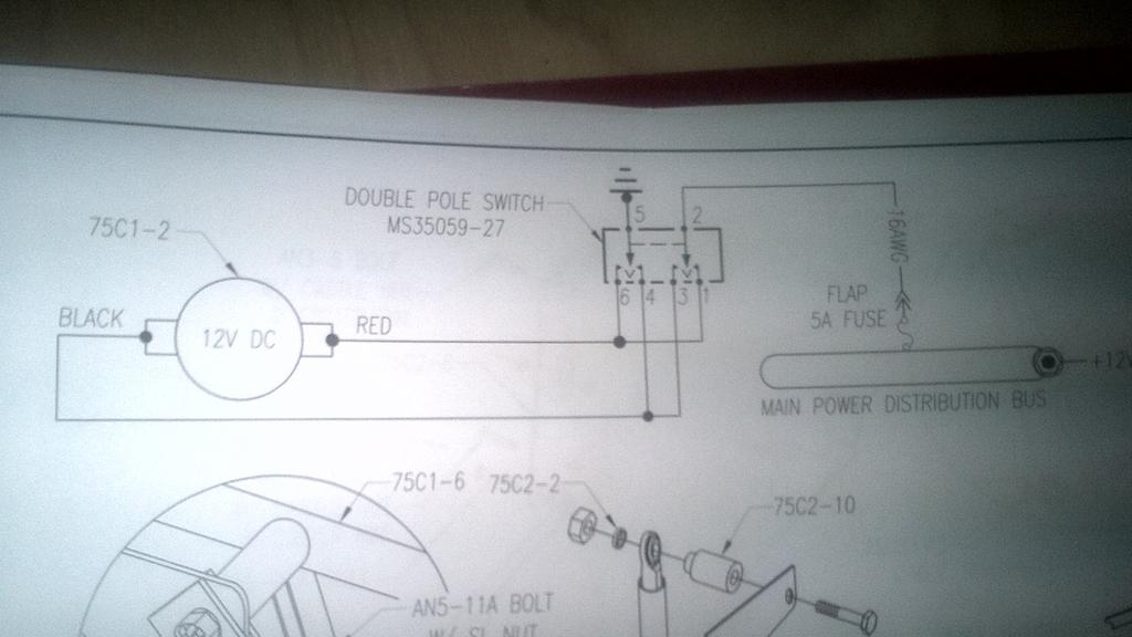 Flap Switch Wiring Diagram