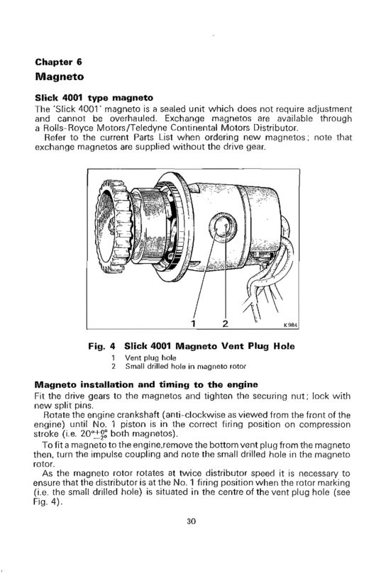 slick 4001 mags - Zenith Aircraft Builders and Flyers