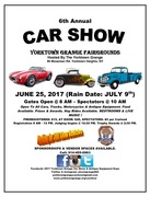 YORKTOWN GRANGE CAR SHOW AND ANTIQUE MACHINERY