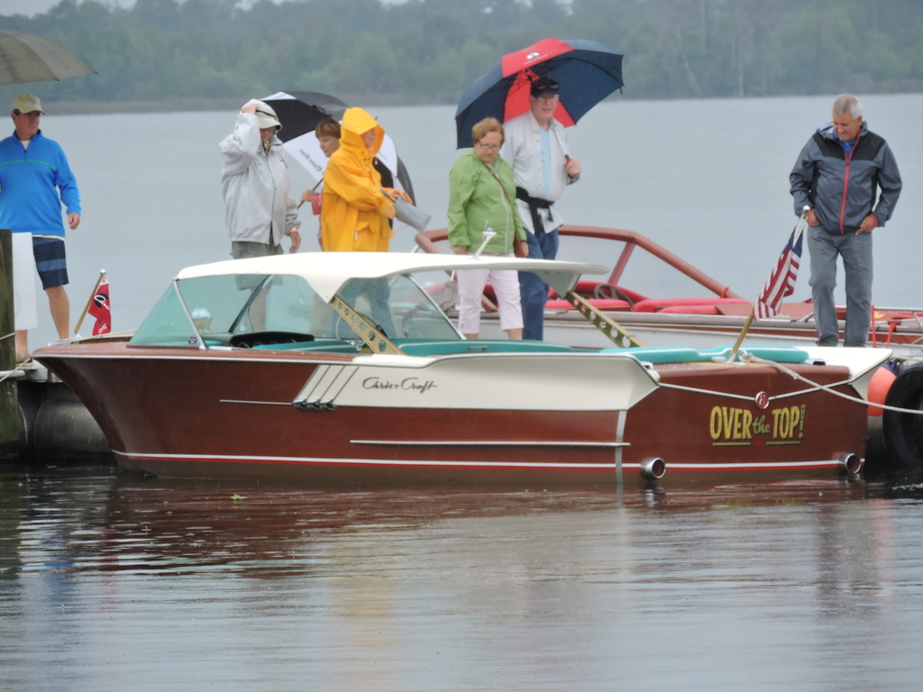 Old Chris Craft's at Antique Boat Show - Chris Craft Commander Club