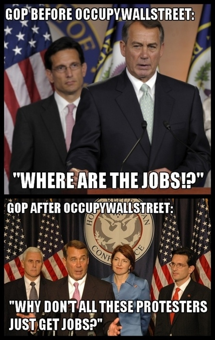 GOP Before and after OWS