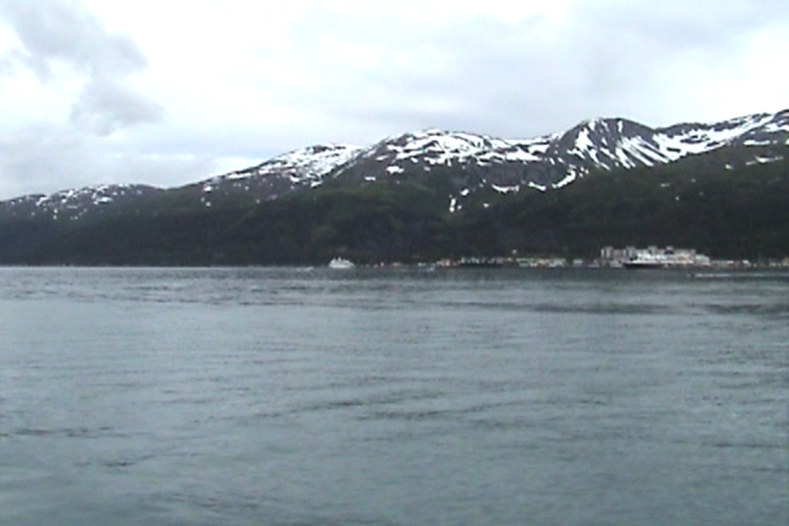 Whittier Alaska from the Water