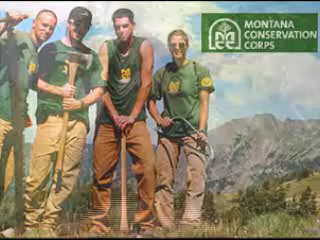 Working for Montana Conservation Corps