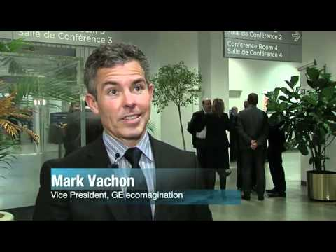 GE Ecomagination VP Mark Vachon on Climate Change and Energy Solutions at UN Investor Summit on Clim