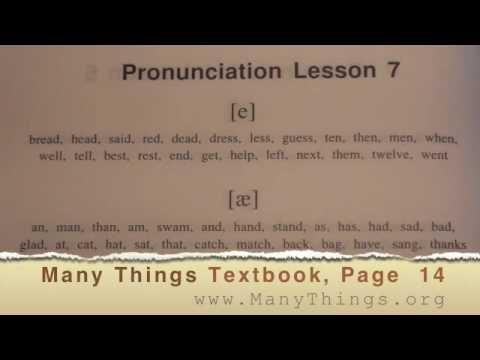 English Pronunciation - Lesson 7: Said-Sad; Guess-Gas; Men-Man; ...