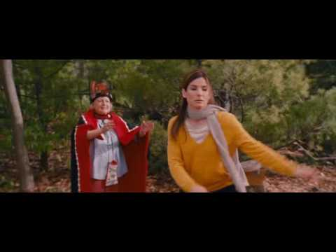 Funny dance for Sandra Bullock The Proposal 2009