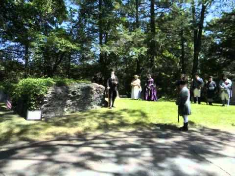 Dr. Joseph Warren Graveside Ceremony, 2010