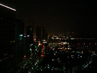 One Miami Night View - Lightning